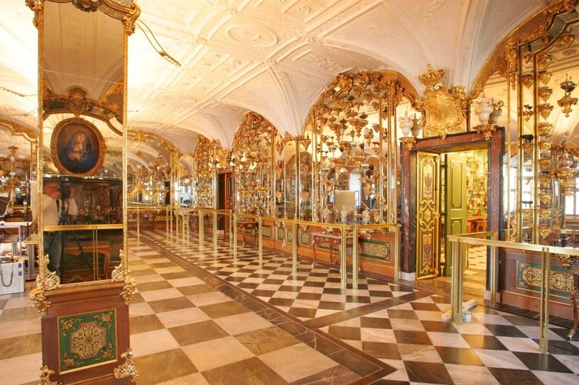 Wnętrze skarbca króla Augusta Mocnego /ullstein bild /Getty Images