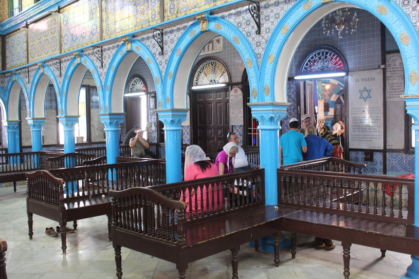 Wnętrze synagogi /INTERIA.PL