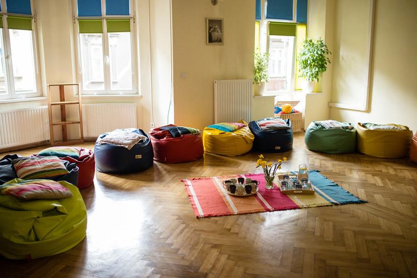 Wnętrze szkoły rodzenia Koala w Krakowie. /&nbsp