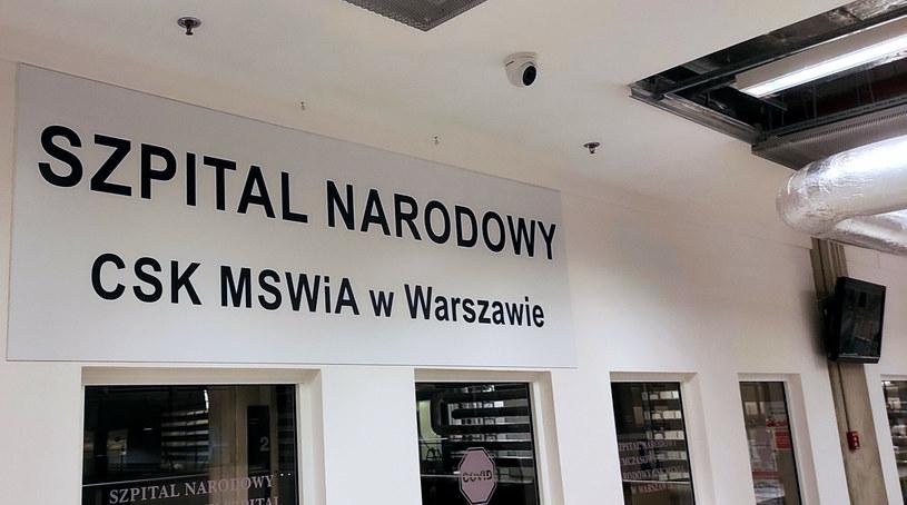 Wnętrze szpitala tymczasowgo na Stadionie PGE Narodowym /East News Owns /East News