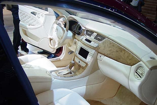 Wnętrze Vision CLS coupe (kliknij) /INTERIA.PL