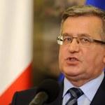 Wniosek o przesłuchanie B. Komorowskiego w procesie o zamach krzesłem