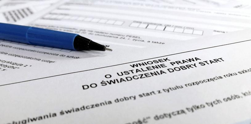 """Wnioski o świadczenie """"Dobry start"""" w wysokości 300 zł można składać do końca listopada /Maciej Chmiel /East News"""