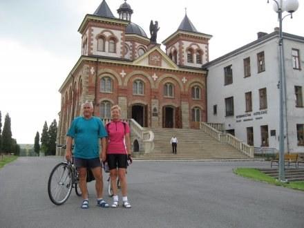 Wnukowie dojechali rowerami w Bieszczady /Nowy Łowiczanin