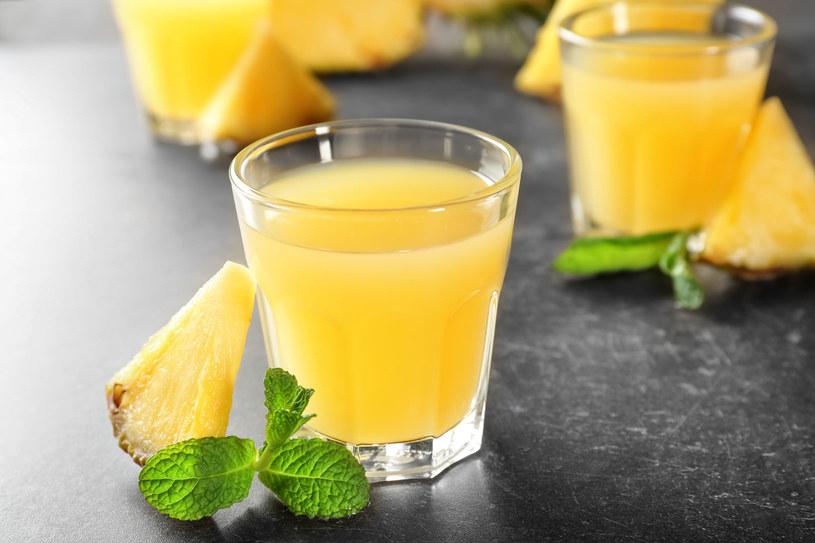 Woda ananasowa /123RF/PICSEL