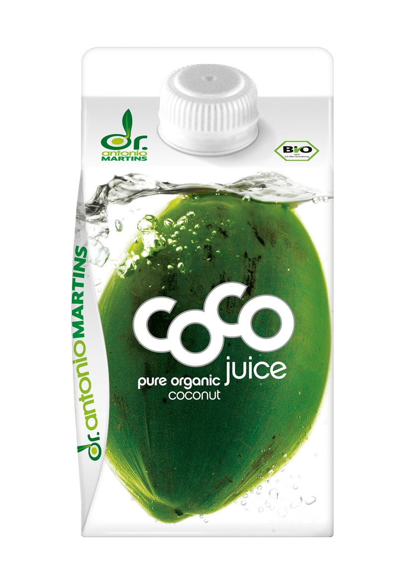 Woda kokosowa jest naturalnym napojem energetycznym  /materiały prasowe