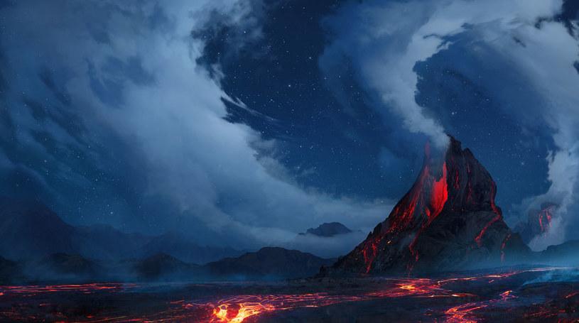 Woda od zawsze była ukryta we wnętrzu Ziemi? Została uwolniona podczas erupcji wulkanów /123RF/PICSEL