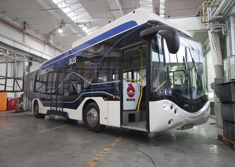 Wodorowy autobus Ursusa City Smile Fuel Cell Electric Bus /PAP/Wojciech Pacewicz /Agencja SE/East News