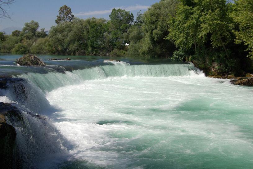 Wodospad na rzece Manavgat, Turcja /123RF/PICSEL