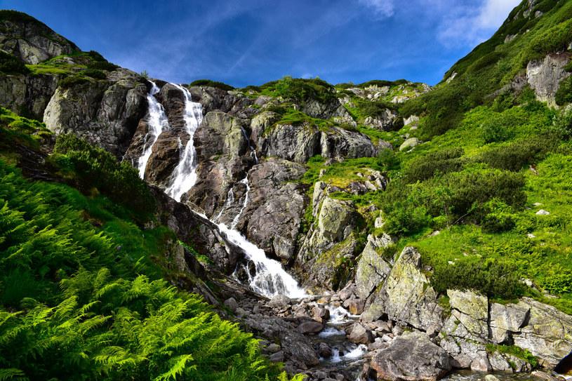Wodospad Siklawa /123RF/PICSEL