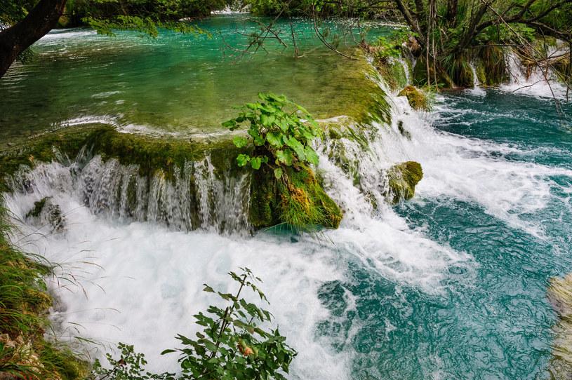 Wodospady w Parku Narodowym Jezior Plitwickich /123RF/PICSEL