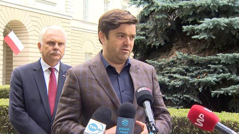 Wojciech Andrusiewicz, rzecznik resortu zdrowia /Polsat /Polsat News