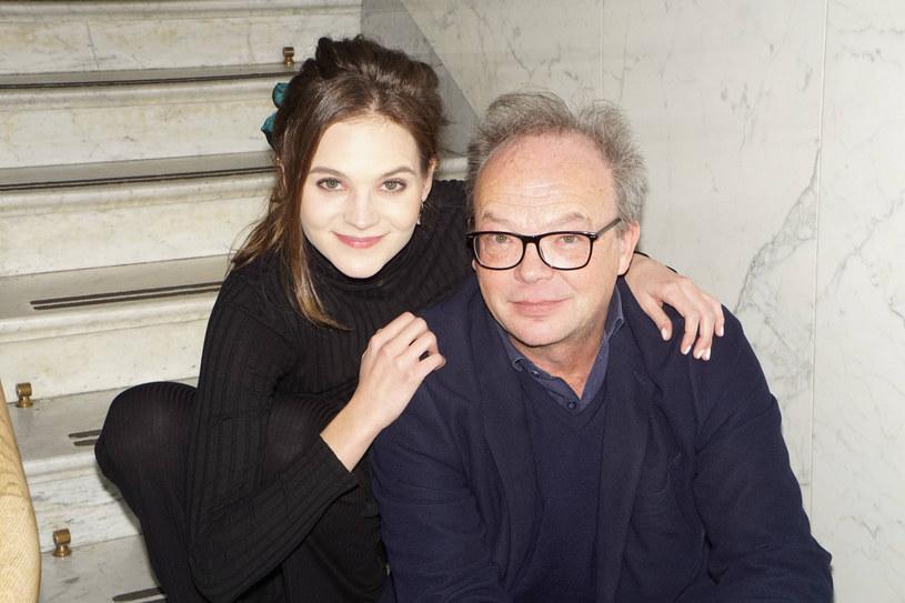 Wojciech Asiński z córką /Tricolors /East News