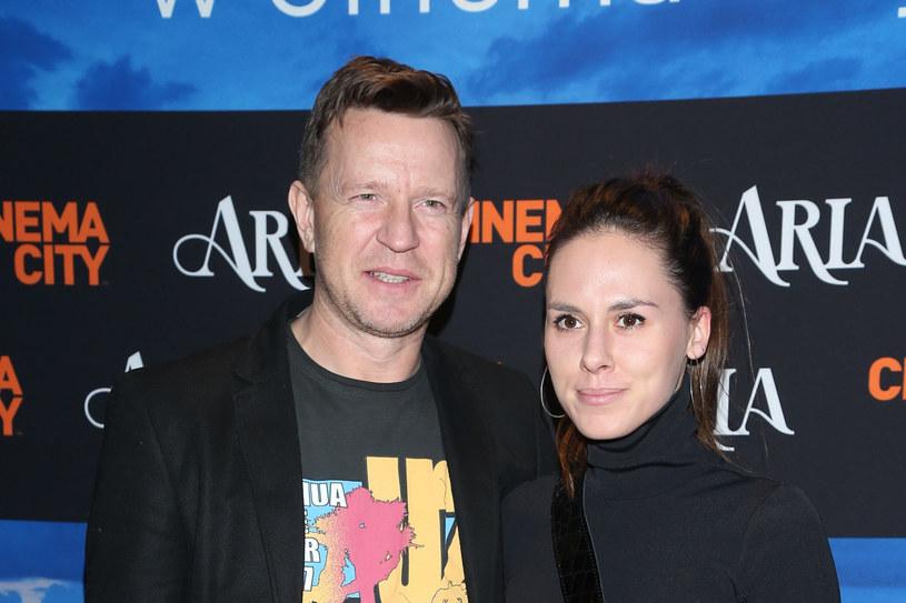 Wojciech Błach rzadko pojawia się z żoną na branżowych imprezach /VIPHOTO /East News