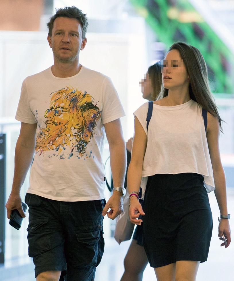 Wojciech Błach z żoną /Foto IP