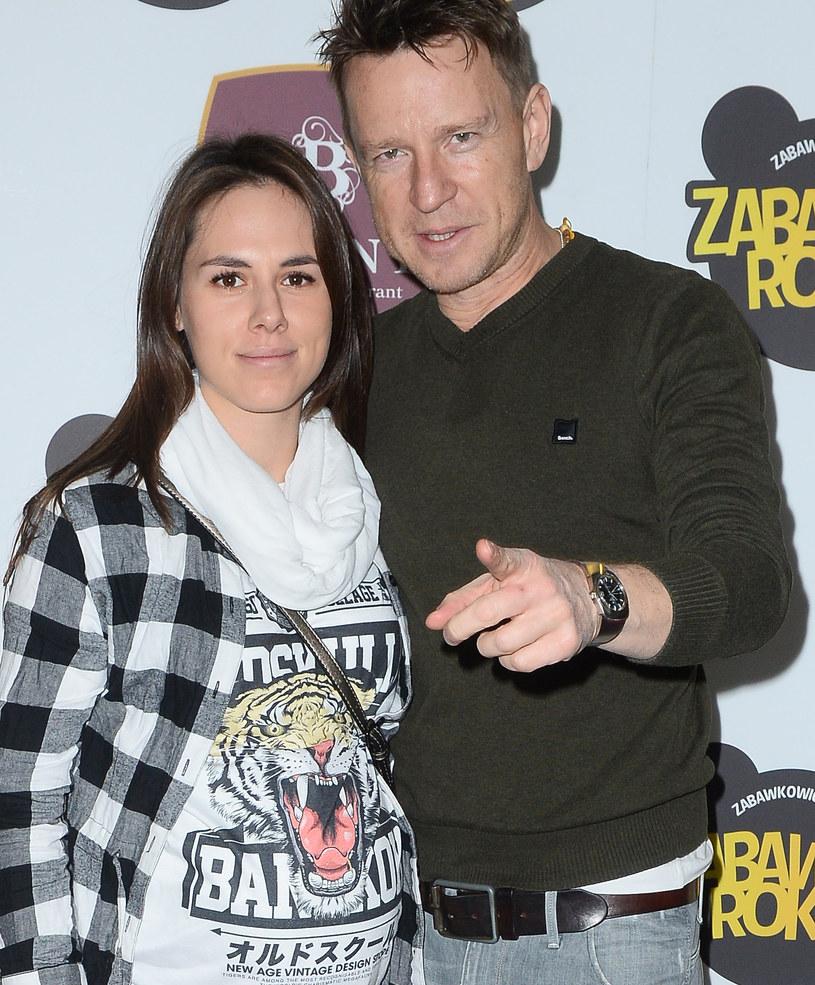 Wojciech Błach z żoną /Jarosław Antoniak /MWMedia