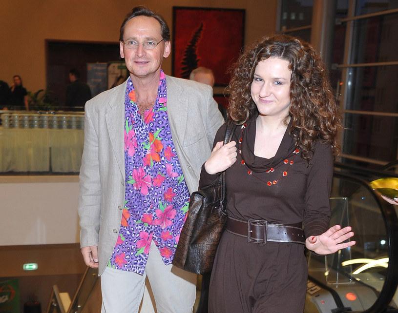 Wojciech Cejrowski i Joanna Najfeld /- /East News