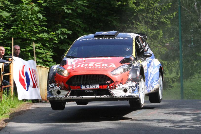 Wojciech Chuchała (Ford Fiesta R5) /Fot. Marek Wicher /