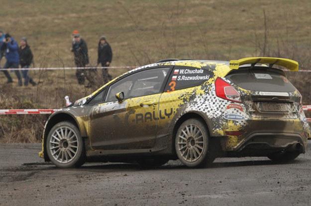 Wojciech Chuchała - Sebastian Rozwadowski  (Ford Fiesta R5). Fot. Marek Wicher /INTERIA.PL
