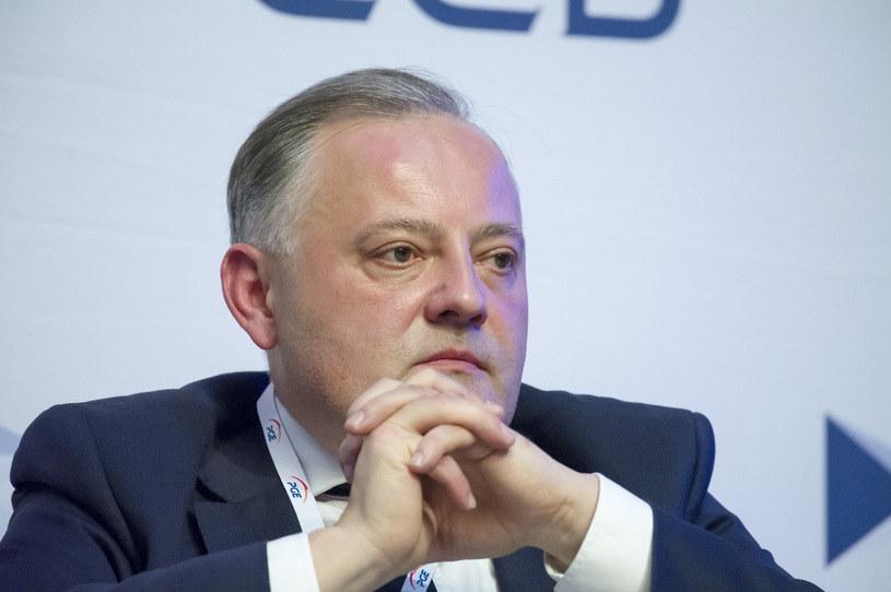 Wojciech Dąbrowski, prezes PGE / Wojciech Stróżyk  /Reporter