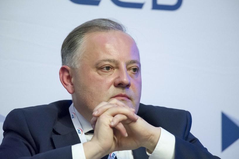 Wojciech Dąbrowski, prezes PGE /Wojciech Stróżyk /Reporter