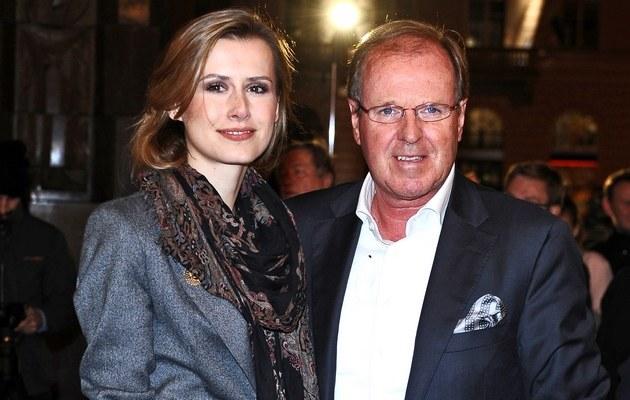 Wojciech Fibak i żoną Olgą /Szilagyi /MWMedia