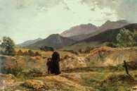 Wojciech Gerson, Dolina Białej Wody w Tatrach, 1899 /Encyklopedia Internautica