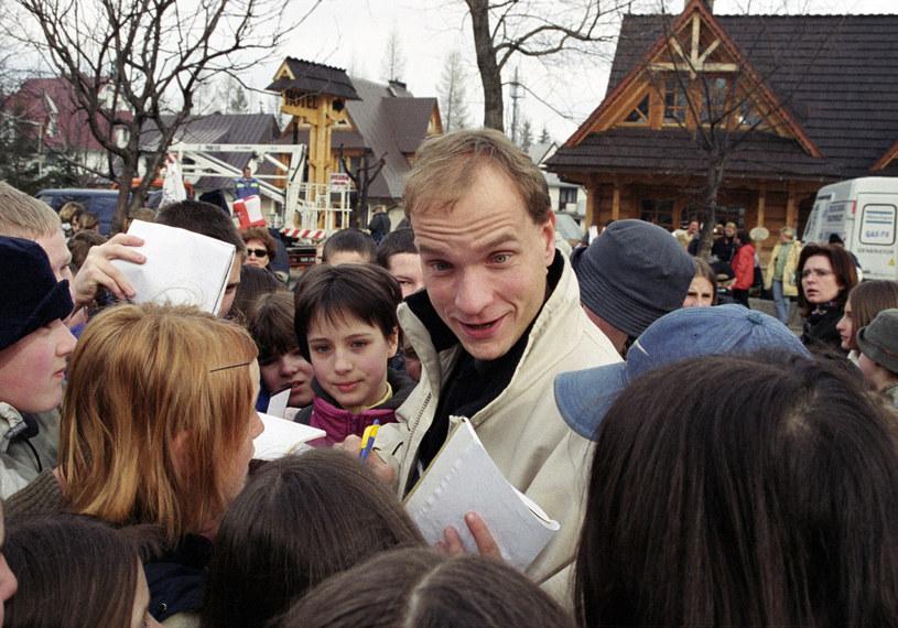 Wojciech Glanc w 2002 roku /Tricolors /East News