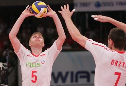 Wojciech Grzyb i Paweł Zagumny,FOT.Łukasz Grochala /Agencja Przegląd Sportowy