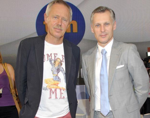 Wojciech Iwański z jurorem Robertem Kozyrą /AKPA