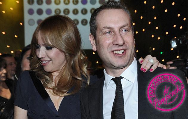 Wojciech Jagielski z żoną Olą /Andras Szilagyi /MWMedia