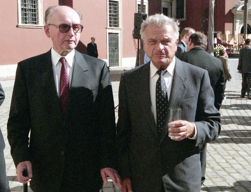 Wojciech Jaruzelski i Czesław Kiszczak /Jacek Domiński /East News