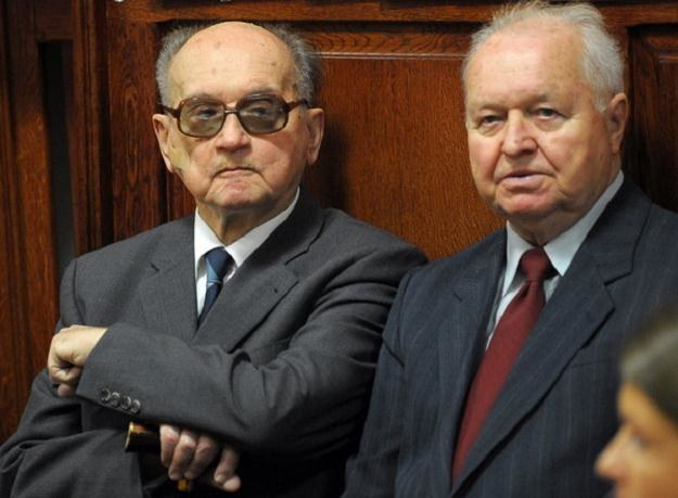Wojciech Jaruzelski i Stanisław Kania /AFP