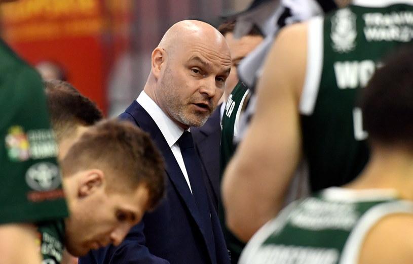 Wojciech Kamiński, trener Legii Warszawa. /Piotr Nowak /PAP