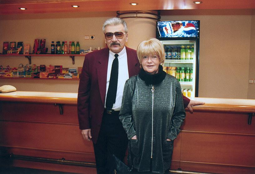 Wojciech Karolak i Maria Czubaszek /AKPA