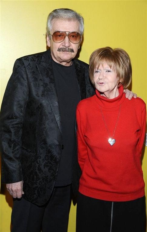 Wojciech Karolak i Maria Czubaszek /AIM