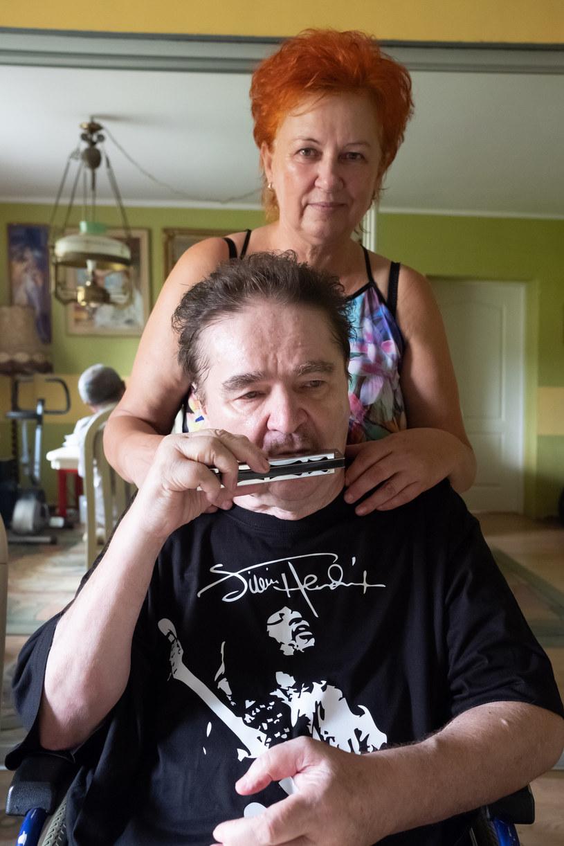 Wojciech Korda z żoną Aldoną, fot. Paweł F. Matysiak /East News