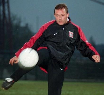 Wojciech Kowalczyk nie zapomniał jak się gra w piłkę. Fot. Marek Zieliński. /Agencja SE/East News