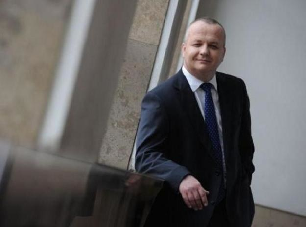 Wojciech Kowalczyk z resortu finansów /