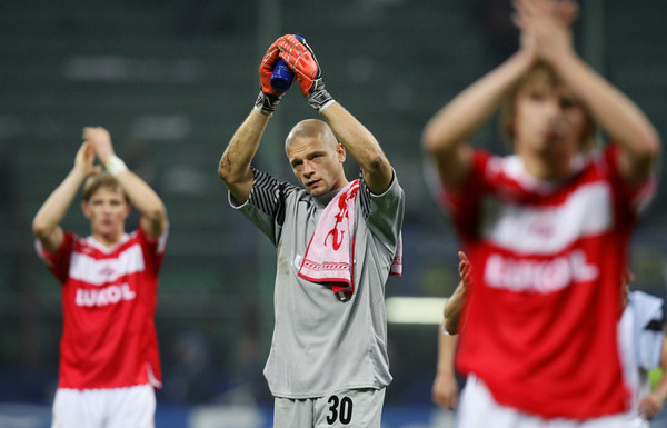 Wojciech Kowalewski bronił barw m.in. Spartaka Moskwa /AFP