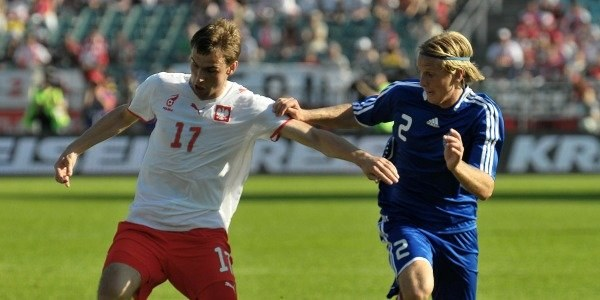 Wojciech Łobodziński z lewej/fot. Łukasz Laskowski /Agencja Przegląd Sportowy