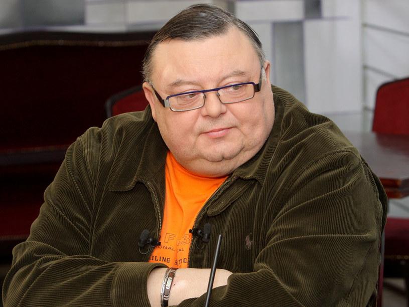 Wojciech Mann mimo braku urody amanta pokazał się przed kamerą  /Paweł Przybyszewski /MWMedia