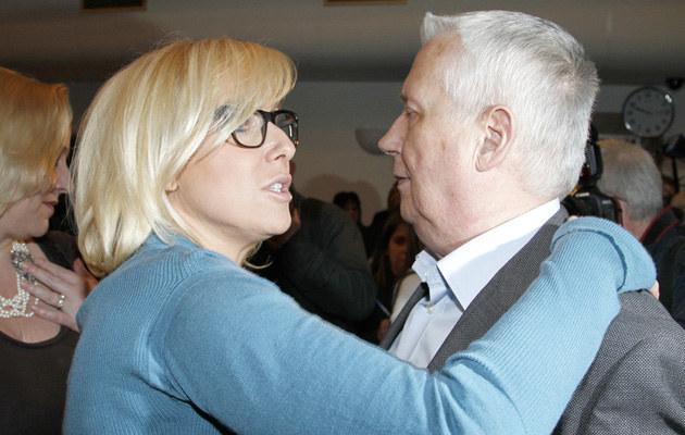 Wojciech Młynarski z córką Agatą /Engelbrecht /AKPA