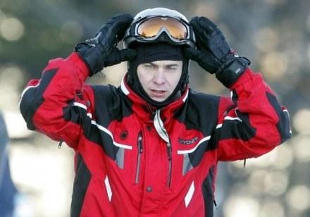 Wojciech Olejniczak będzie jeździł na nartach, fot. P. Grzybowski /Agencja SE/East News