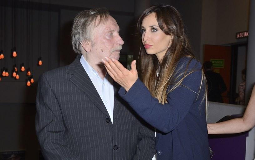 Wojciech Pokora i Agata Nizińska /VIPHOTO /East News