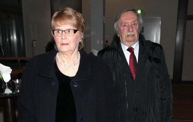 Wojciech Pokora z żoną Hanną /Paweł Wrzecion /MWMedia