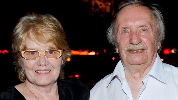Wojciech Pokora z żoną /Agencja W. Impact