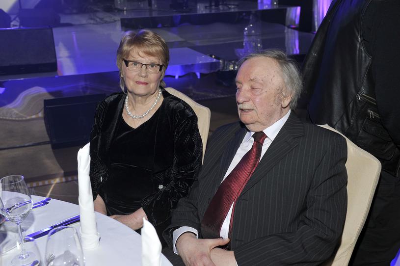 Wojciech Pokora z żoną /Kurnikowski /AKPA