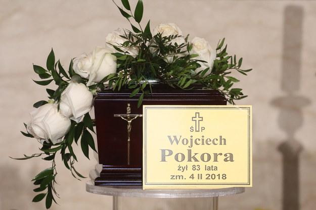 Wojciech Pokora zmarł 4 lutego w wieku 83 lat. /Paweł Supernak /PAP