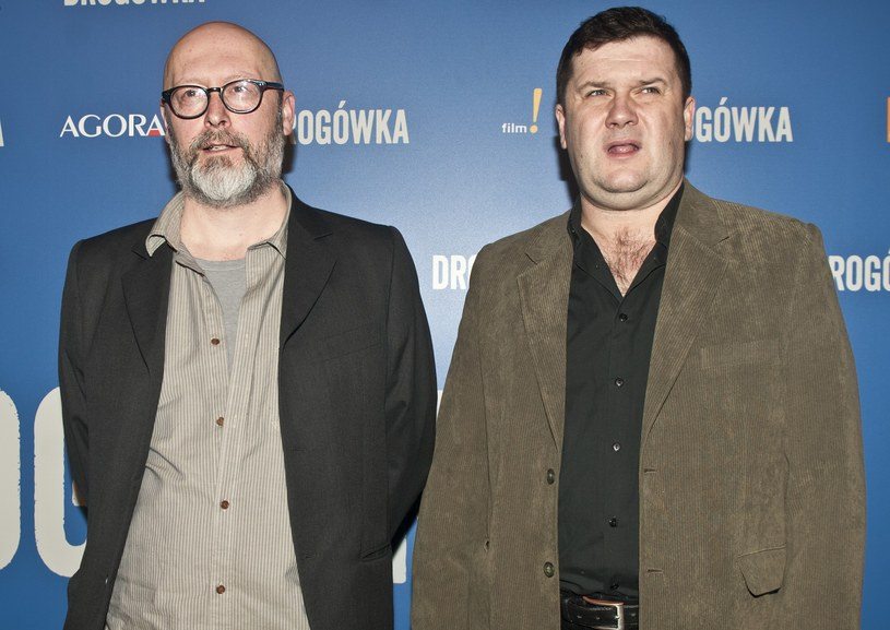 """Wojciech Smarzowski i Robert Wabich na premierze """"Drogówki"""" /Justyna Rojek /East News"""